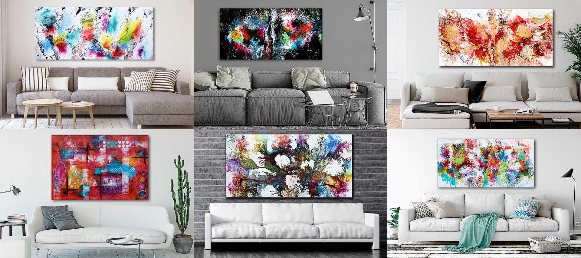 Gemälde Malerei Wandbilder Acrylgemälde Acrylbilder Acrylmalerei Kunstwerke moderne abstrakte Kunst von Michael Lönfeldt online kaufen