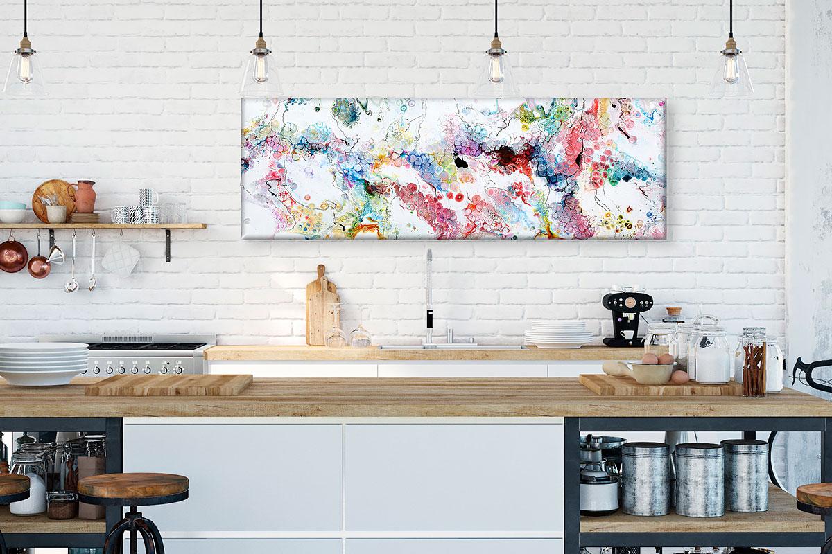 Gegenwärtige Kunst auf Kunstdrucke und Bilder für die Küche